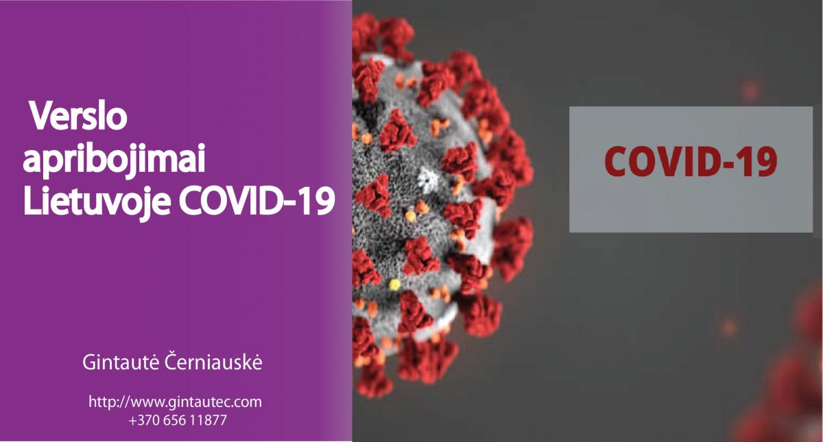COVID -19 Verslas